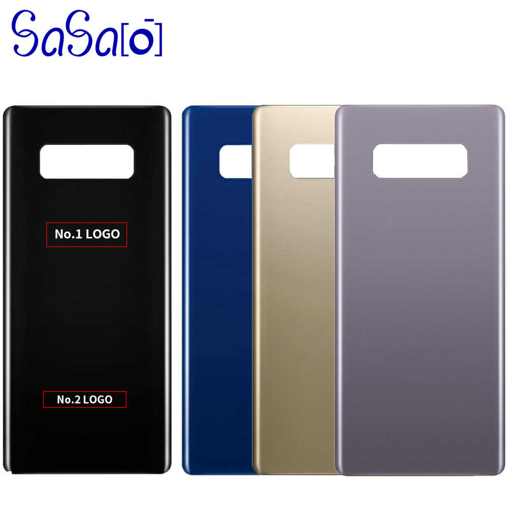 10pcs Case Galaxy Cover Glass 8 Note8 Samsung Note Parts Sticker For N950 Housing Door Battery Back Rear Replacement