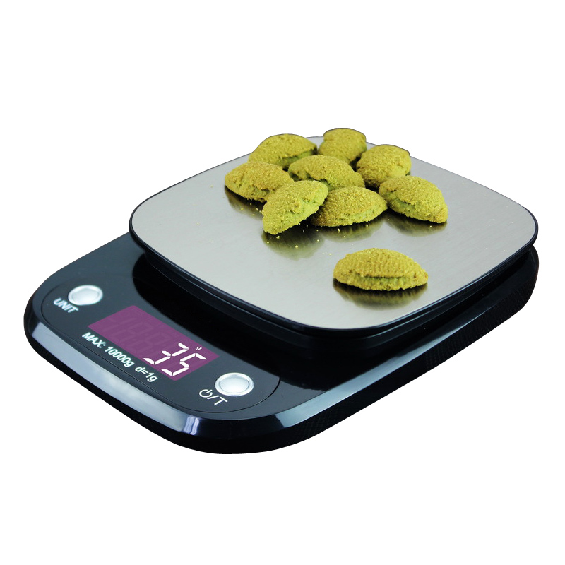 10kg /1g LCD Backlight Digital Kitchen Scale Stainless Steel Electronic Scales Cooking Food Balance Measuring Weight