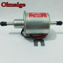Дизельный бензиновый насос, электрический топливный насос низкого давления 12 В HEP-02A для карбюратора, мотоцикла, квадроцикла