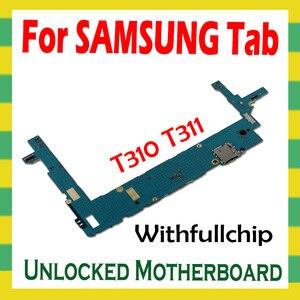 Image 2 - Motherboard For Samsung Galaxy Tab 3 8.0 T310 T311 T315 FULL Unlocked Mainboard Full Chips unlock Logic Board mother boards 16GB