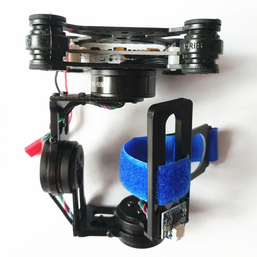 3 Axis Gimbal Storm32 BGC Lightweight Brushless Gimbal W/ Motors Free Debug 3-4S For Gopro3 Gopro4 SJ4000 Xiaoyi Camera DIY FPV