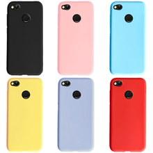 Para xiaomi redmi 4x caso silicone doce cor à prova de choque para trás protetor de telefone macio tpu caso pára-choques para xiaomi redmi 4x capa