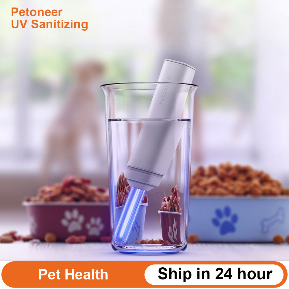 Xiaomi Petoneer UV Sanitizing Pen Cold Cathode UV Sterilization Water Purifier Pen Rechargeable Destroys Bacteria Pet Health