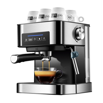 Ekspres do kawy ekspres do kawy ekspres do kawy ekspres do kawy ekspres do kawy Cappuccino 20Bar kawiarka 850W Cafetera tanie i dobre opinie SHIPULE CN (pochodzenie) YP-CM6863 Espresso Coffee Maker STAINLESS STEEL Elektryczne Silver Semi-automatic 1 5L 270*234*292mm