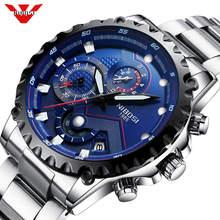 NIBOSI hommes montre grand cadran cadran sport montres hommes mode armée montre hommes militaire horloge Quartz montre bracelet Relogio Masculino