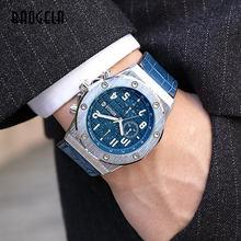 Часы наручные baogela Мужские кварцевые водонепроницаемые повседневные