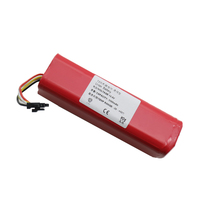 5500mAh li-ion 18650 battery for xiaomi mi vacuum robot Robotics cleaner mi robot Vacuum Cleaner accessories roborock S50 S51