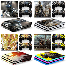 for PS4 Pro Skin Decal Style Skin Wrap fits Sony PlayStation 4 Pro Console skin sticker