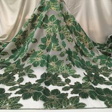 Latest Jacquard Fabric Brocade Lace Tissu Top Selling African Tulle Net Lace Fabric Brocade Fabric for Nigerian Wedding LWJK02B