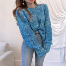 Женский свитер 2020 шикарные теплые плотные вязаные пуловеры