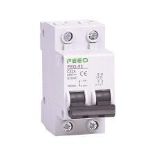 2P DC 550V Circuit breaker MCB C curve direct-current  for PV CE Certificate