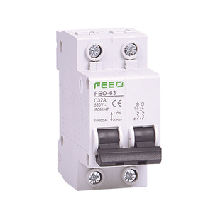 2P DC 550V Circuit breaker MCB C curve direct-current for PV CE Certificate(China)