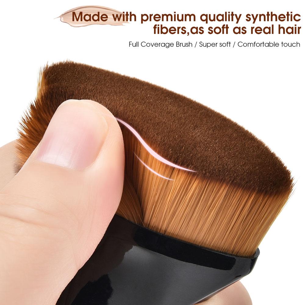 Makeup Brushes Foundation Brush BB Cream Loose Powder Flat Brush Kit Set Female Make Up Tool Cosmetics Beauty 2