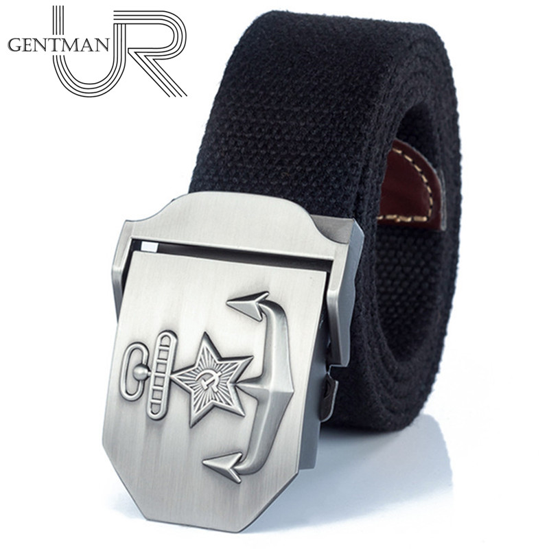 New Men & Women High Quality Military Belt Navy Of The CCCP Canvas Strap Patriotic Retired Soldiers Jeans Tactical Belt