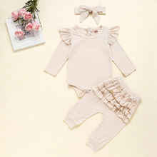 Baby Girl Romper Ruffle Clothes Set Outfits