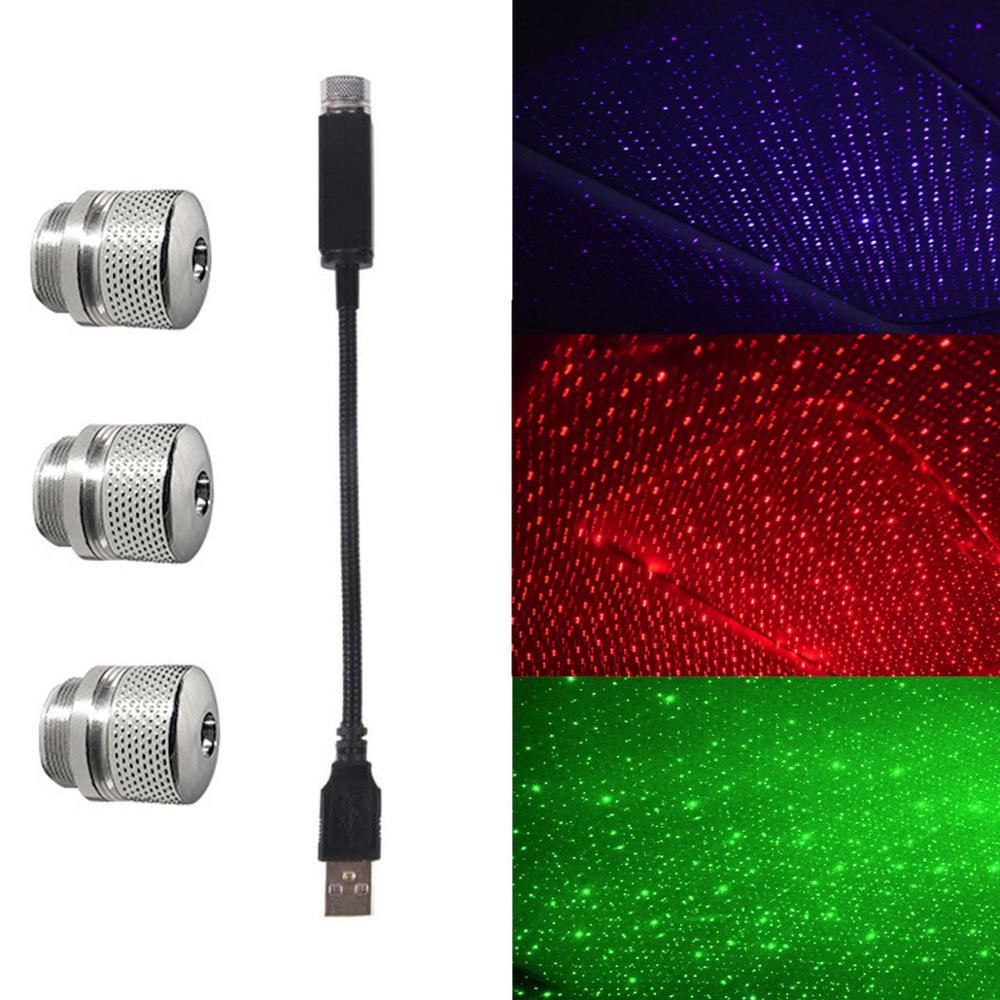 Мини светодиод машины на крыше Звезда Ночной Светильник USB декоративная лампа проектор Регулируемая атмосфера домашний Потолочный декор светильник|Декоративная лампа|   | АлиЭкспресс