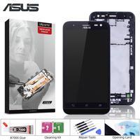 ORIGINAL Für ASUS Zenfone 2 Laser ZE500KL Display LCD Touch Screen mit Rahmen ZE500KL ZE500KG Z00ED LCD Bildschirm Ersatz-in Handy-LCDs aus Handys & Telekommunikation bei