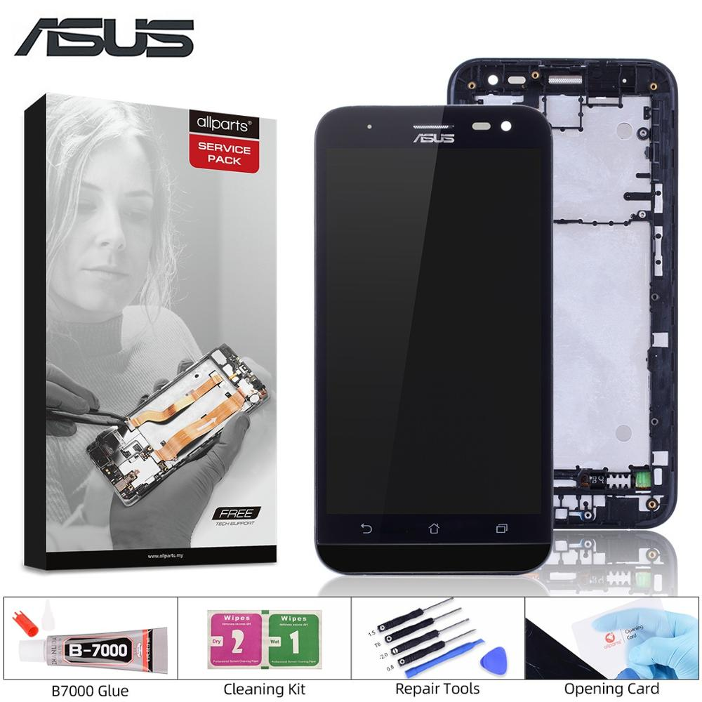 ORIGINAL For ASUS Zenfone 2 Laser ZE500KL Display LCD Touch Screen with Frame ZE500KL ZE500KG Z00ED LCD Screen Replacement Mobile Phone LCD Screens     - title=
