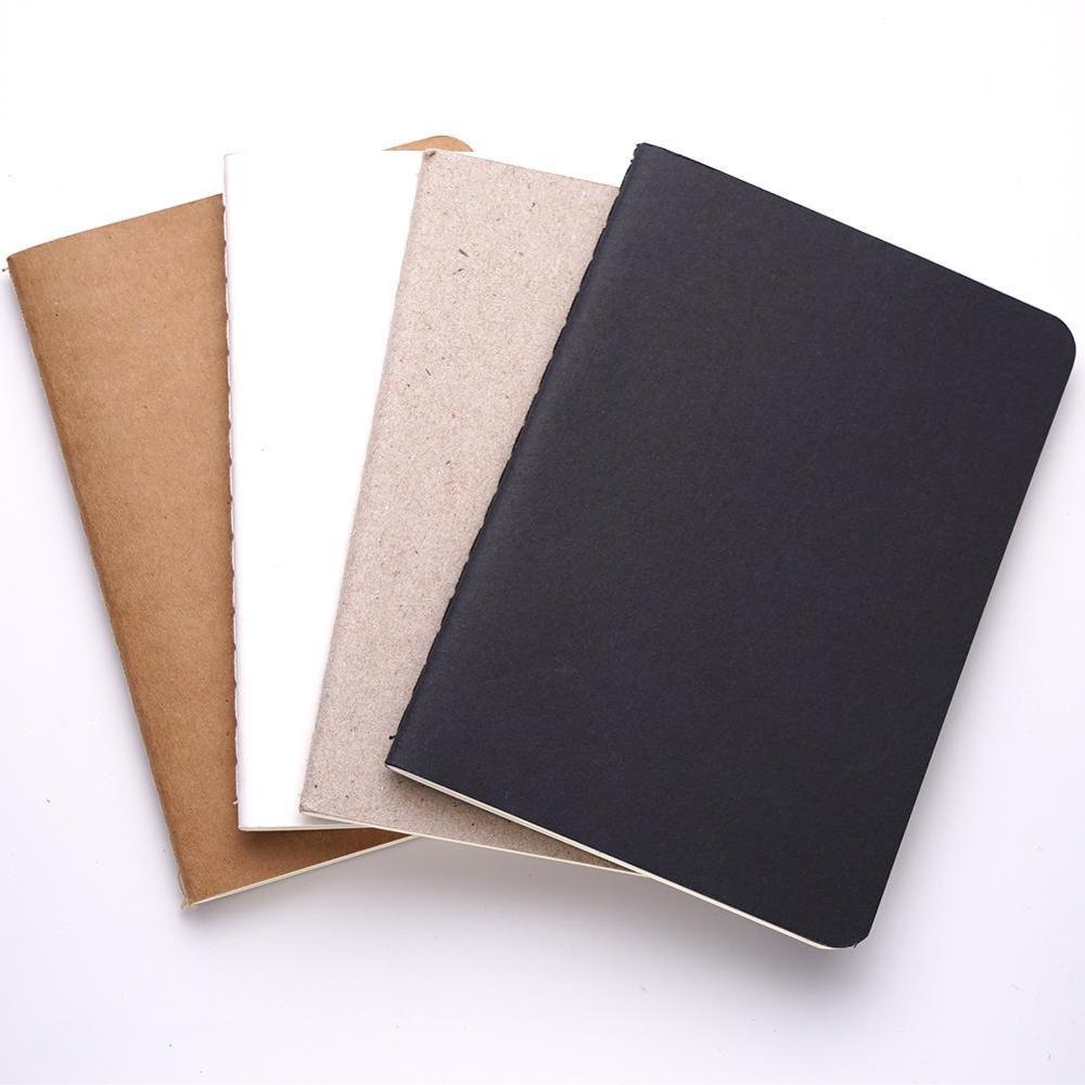 Modern Solid Color Mini Blank Graffiti Sketch Book Notebook Journal Supply School Student Book Gifts Diary Office Stationer