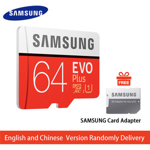 SAMSUNG Memory Card 32G 64G 128G 256G SDHC 95MB/s Grade EVO+ MicroSD Class 10 Micro SD C10 UHS TF Trans Flash 32 GB Phone Cards
