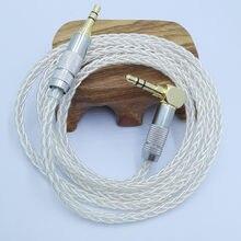 Jack 3.5 cabo de áudio 3.5mm linha de alto-falante aux cabo para o telefone do carro fone de ouvido cabo de áudio para amplificador dap da
