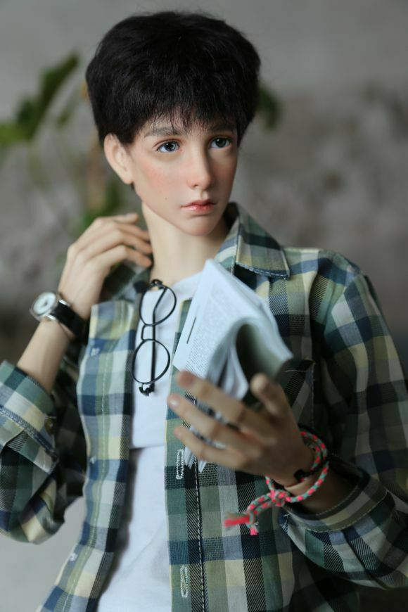 1/4 BJD Handsome Boy Doll Arsene 44CM Resin Ball-Jointed Doll Free Face Up