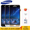 Originale Super Amoled per Samsung Galaxy J3 2016 J320 Lcd J320F J320A J320M J320Y Lcd Touch Digitizer Screen Display per j3 Lcd