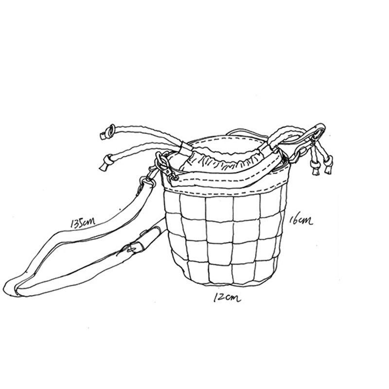 AETOO New grande capacidade de ombro único saco preto de couro macio cinta larga ombro balde bolsa de couro verticais saco grande - 5