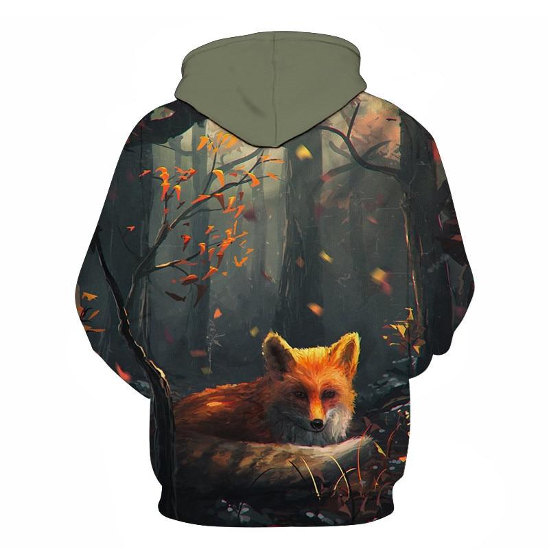 Wolf Printed Women 3d Hoodies Brand Sweatshirts Girl Boy Jackets Pullover Fashion Tracksuits Animal Streetwear Lovers Sweatshirt 58