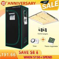 Mars Hydro TS 1000W Set LED grow light + 70x70x160cm Grow Tent Box Combo Kits Hydroponics