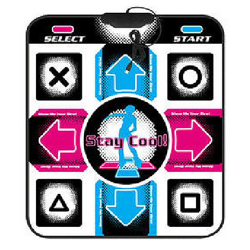 PC USB Dancing Mat HD Non-Slip Step Dance Mats Fitness Toys Portable Adult Bodybuilding Pads #812