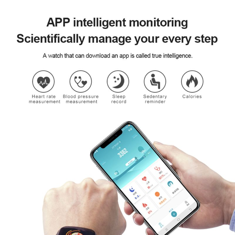Gt103 relógio inteligente monitor de freqüência cardíaca