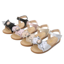 Girls Summer Shoes 2021 Kids Sandals Lovely Butterfly Shoes for Children Soft Girls Flat Princess Shoes Toddlers Girl Sandalias