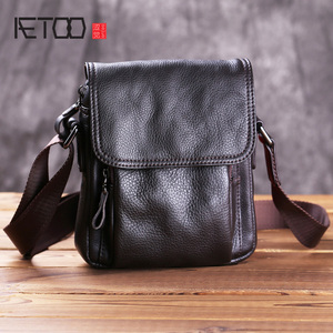 AETOO Mini men's bag, leather