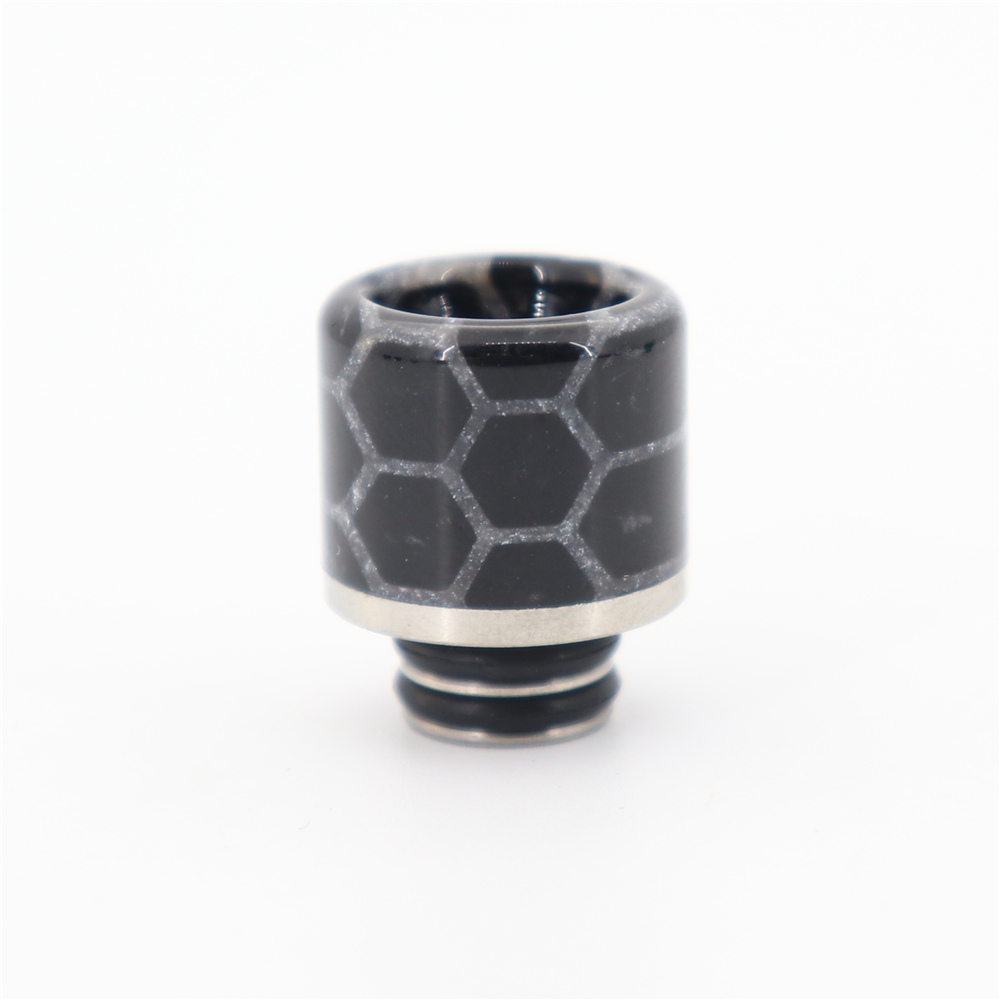 1PCS YUHETEC 510 Resin+Stainless Steel Drip Tip filter screen for ijust S/TFV8 baby/TFV12 BABY PRINCE/stick M17/MELO 4 D25 enlarge