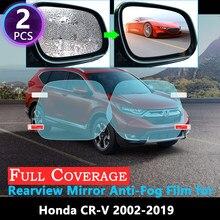 Противотуманная пленка с полным покрытием для Honda, специальная непромокаемая противотуманная пленка для зеркала заднего вида Honda, 2002, ~ 2019, CRV...