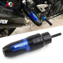 Voor Suzuki GSX S750 GSXS750 Gsxs GSX S 750 Motorcycle Cnc Frame Crash Bescherming Pads Uitlaat Sliders Protector Met Logo