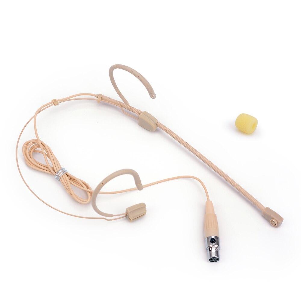 Profissional omnidirecional 4 pinos fone de ouvido