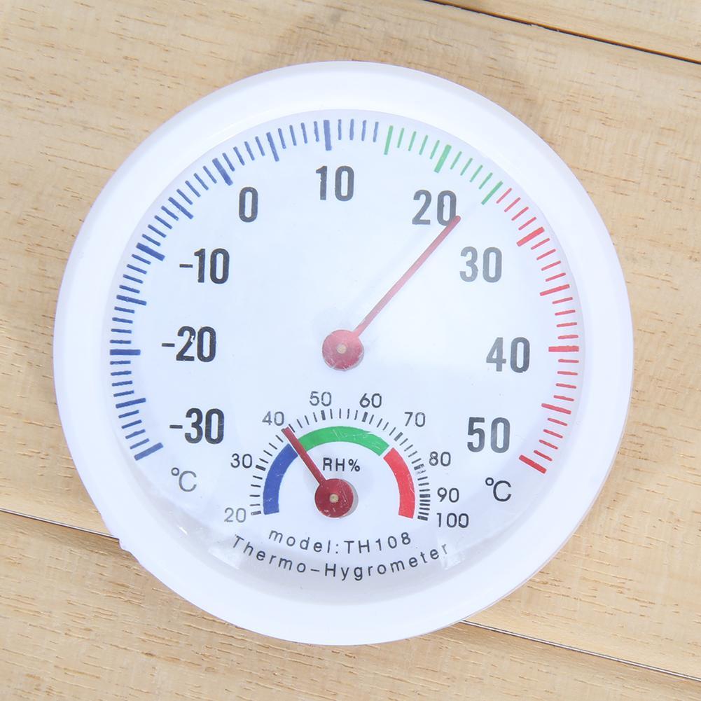 Mini Thermometer Hygrometer Bell-Vormige Lcd Digitale Schaal Voor Thuis Kantoor Muur Promotie Mount Indoor Temperatuur Meet Gereedschap 3