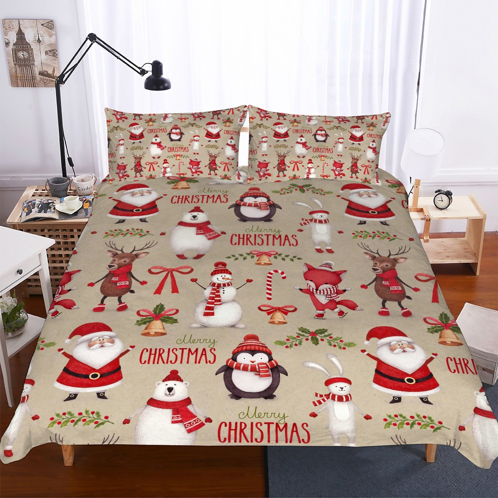 Best Sale #3204 - Home Dorm Christmas Bedding Set Boys Girls ...