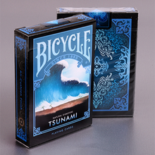 Bicycle Natural Disasters Tsunami Playing Cards Collectable Poker USPCC Limited Edition Deck Magic Cards Magic Tricks Props(China)