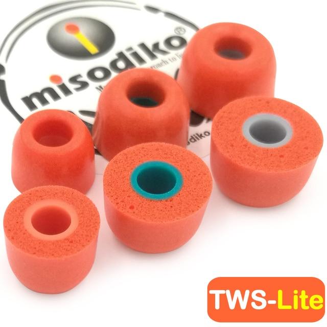 Misodiko Tws Lite Memory Foam Oordopjes Tips Voor Sony WF 1000XM3 SP700N, Jaybird Run, Beoplay E8, 1 Meer Stijlvolle E1026BT I Ibfree