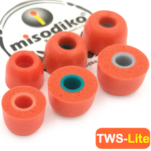 Misodiko fones de ouvido com espuma de memória tws, pontas de ouvido para sony WF 1000XM3 sp700n, jaybird run, beoplay e8, 1 mais elegante E1026BT I ibfree