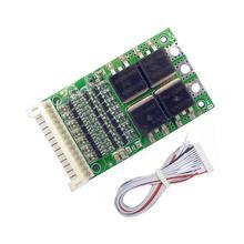 BMS 6S 7S 8S 9S 10S 11S 12S 13S 4,2 V 25A einstellbare BMS Lithium Li-Ion 18650 Batterie Pack Schutz Schaltung Modul PCB PCM