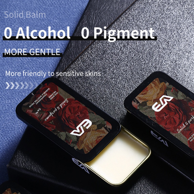 Solid Perdume Men Fragrances Women Portable Case Perfume Staying  attactive Long time Aroma Deodorant Fragrance 2