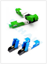 FTTH SC UPC Optical fibe quick connector SC PC FTTH Fiber Optic Fast Connector Embedded type ESC250D SC Connector