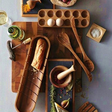 Egg Storage Container Wooden…