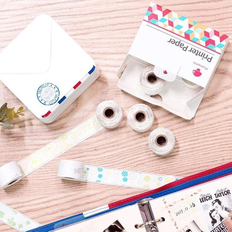 Universal Printing Paper Thermal Paper Pattern Sticker Self-Adhesive Thermal Paper Printable Sticker Label Papers