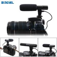 Mic 01 Fucile A Condensatore Professionale Microfono Della Macchina Fotografica per Canon EOS M2 M3 M5 M6 800D 760D 750D 77D 80D 5Ds R 7D 6D 5D Mark IV