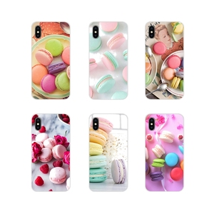 For Huawei Y5 Y6 Y7 Y9 Prime Pro GR3 GR5 2017 2018 2019 Y3II Y5II Y6II Accessories Skin Cover dessert ice cream laduree Macarons